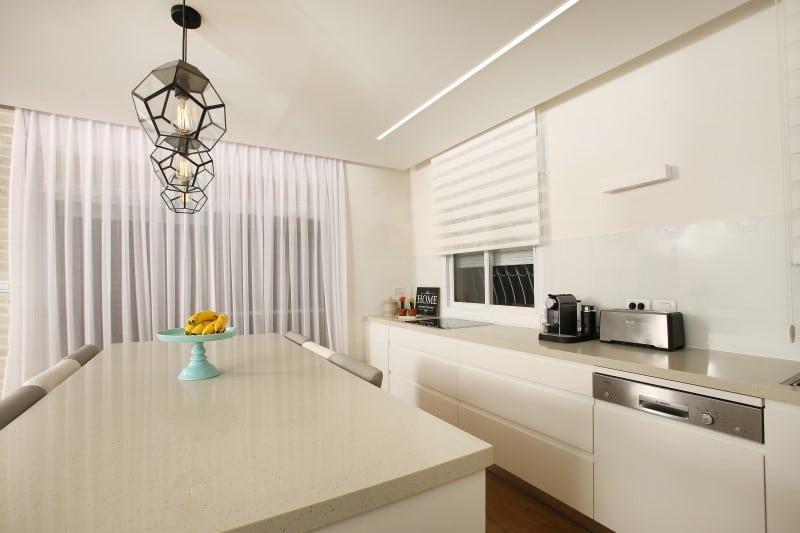 שילוב מוצרים מתאימים לצורך עיצוב מטבח מודרני