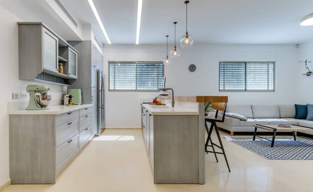 מטבח מעוצב של איתמר רונן - אדריכלות ועיצוב פנים