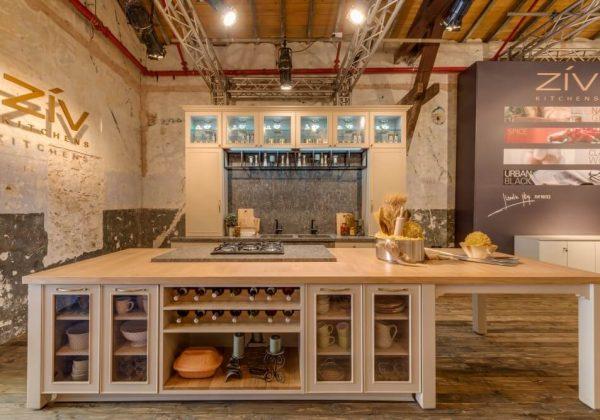 ביתן מטבחי זיו בשבוע העיצוב הישראלי 2017